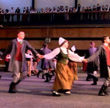 """Tautas deju festivāls """"Sasala jūrīna"""""""