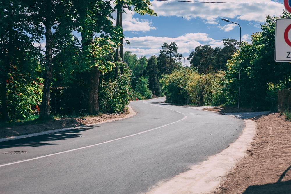 Noslēgusies Upes ielas pārbūve | Saulkrastu novada pašvaldības mājas lapa